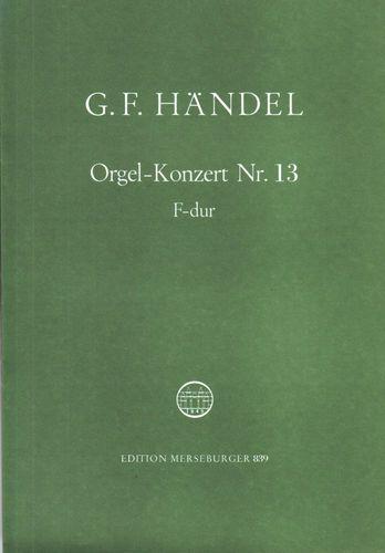 Händel, Georg Friedrich - Orgelkonzert Nr. 13