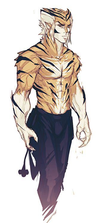 Wouldn't it be cool if #Marvel's #Tigra's son WILLIAM GRANT NELSON grew up resembling #Tygra from Thundercats!