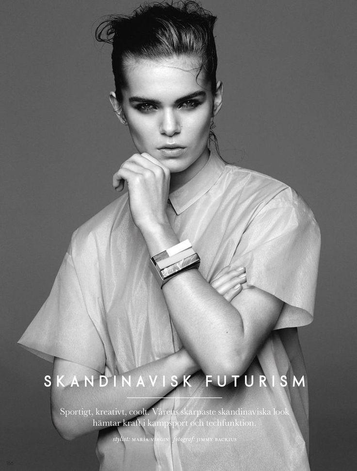 skandinavisk futurism: sandra schmidt by jimmy backius for elle sweden may 2015