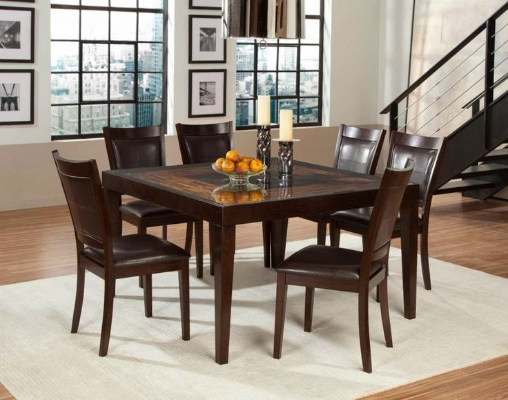 20 best Dining Room images on Pinterest Square kitchen tables