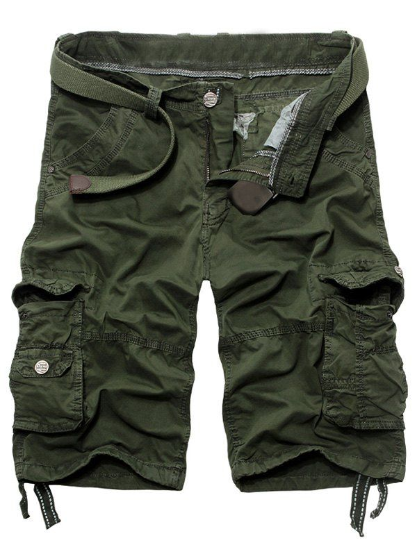 Fashion Loose Fit Multi-Pockets Cargo Shorts For Men from 26.82$ by SAMMYDRESS