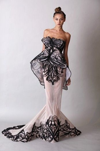 Marchesa Dress. Love the butterfly look