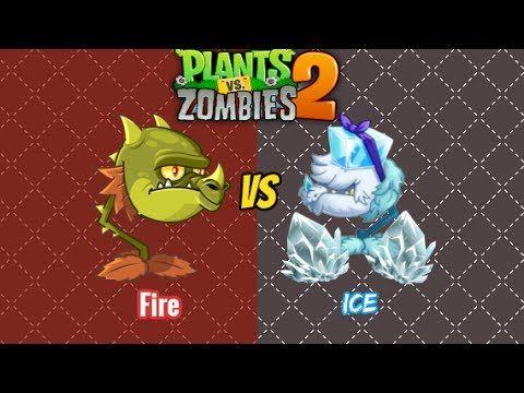 Plants vs Zombies 2 - SNAPDRAGON VS COLD SNAPDRAGON NEW!