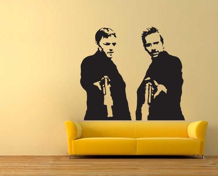 Boondock Saints Gun Room Wall Quote - Home Decor
