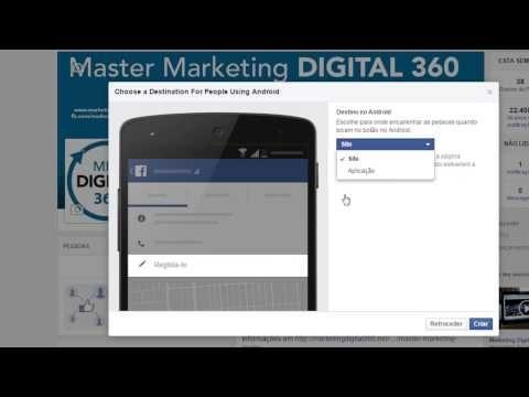 Novo botão Facebook para mais conversões - Master Marketing Digital 360