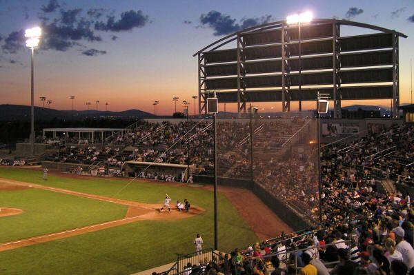 Tri-City Stadium in Pasco, Washington.  Home to the Tri-City Posse.  No affiliate.  Western Baseball League.  Professional.