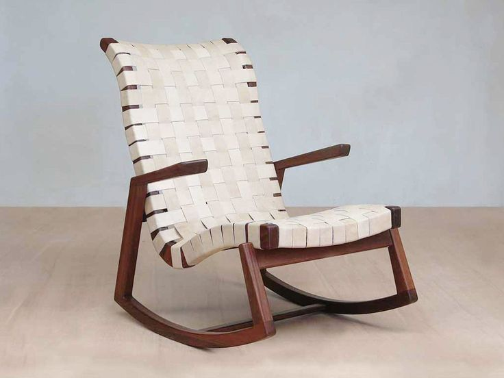 Our Abuelo leather rocking chair is handmade from sustainably sourced tropical hardwood, featuring exceptional quality, comfort and style that is built to last.