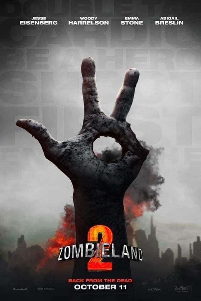 Zombieland 2 Seen In 2019 Zombieland Taps Film