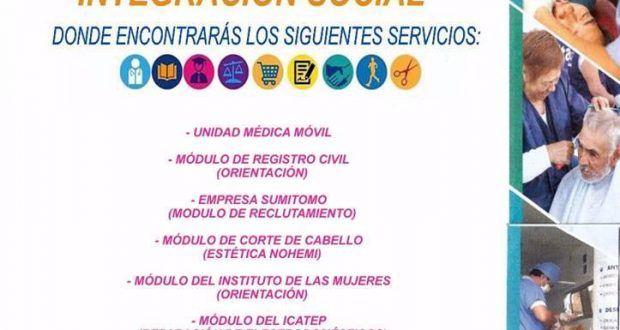 Participa este Viernes en la Jornada de Integración Social En Metepec de 09:00 a 15:00 Hrs – Metepec Atlixco Puebla