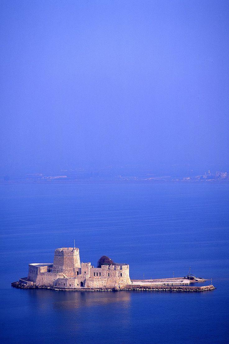 Bourtzi Castle, Nafplio, Greece