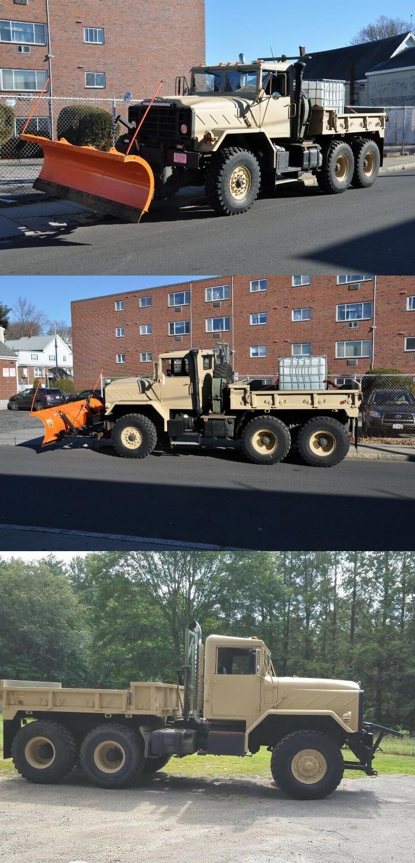 Upgraded 1990 Bmy 931a2 6x6 Plow Truck Military Plow Truck Trucks Trucks For Sale