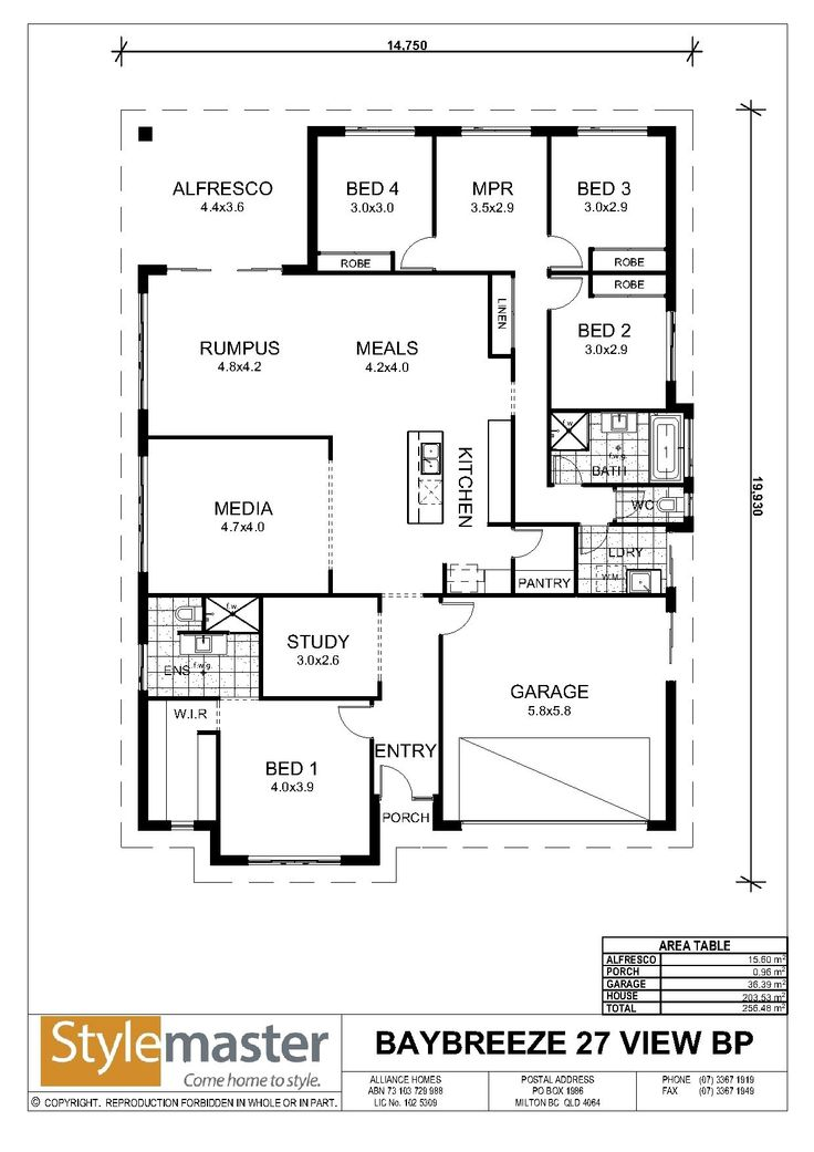 7 best house plan 15m images on pinterest blueprints for homes our homes view baybreeze 30 bp view stylemaster homes malvernweather Image collections