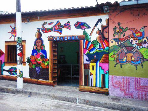 La Palma art El Salvador2 Street art of La Palma, El Salvador