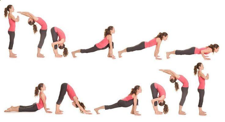Assez The 25+ best Surya namaskara ideas on Pinterest | Yoga sun  AV98