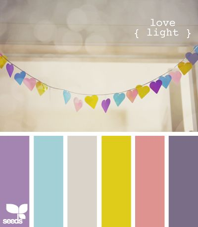 Kind of easter egg-y but i love the heart garland