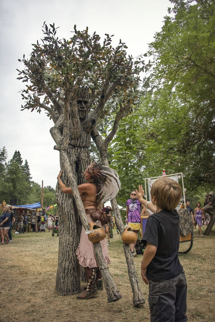 Oregon Country Fair 2015 Matte Hanna Tree Costume
