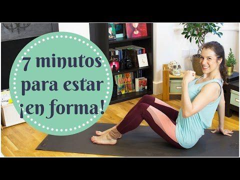 Rutina de ejercicios para todo el cuerpo en 7 minutos!