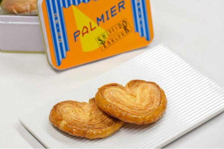 資生堂パーラーが手掛けるパイ菓子「パルミエ」
