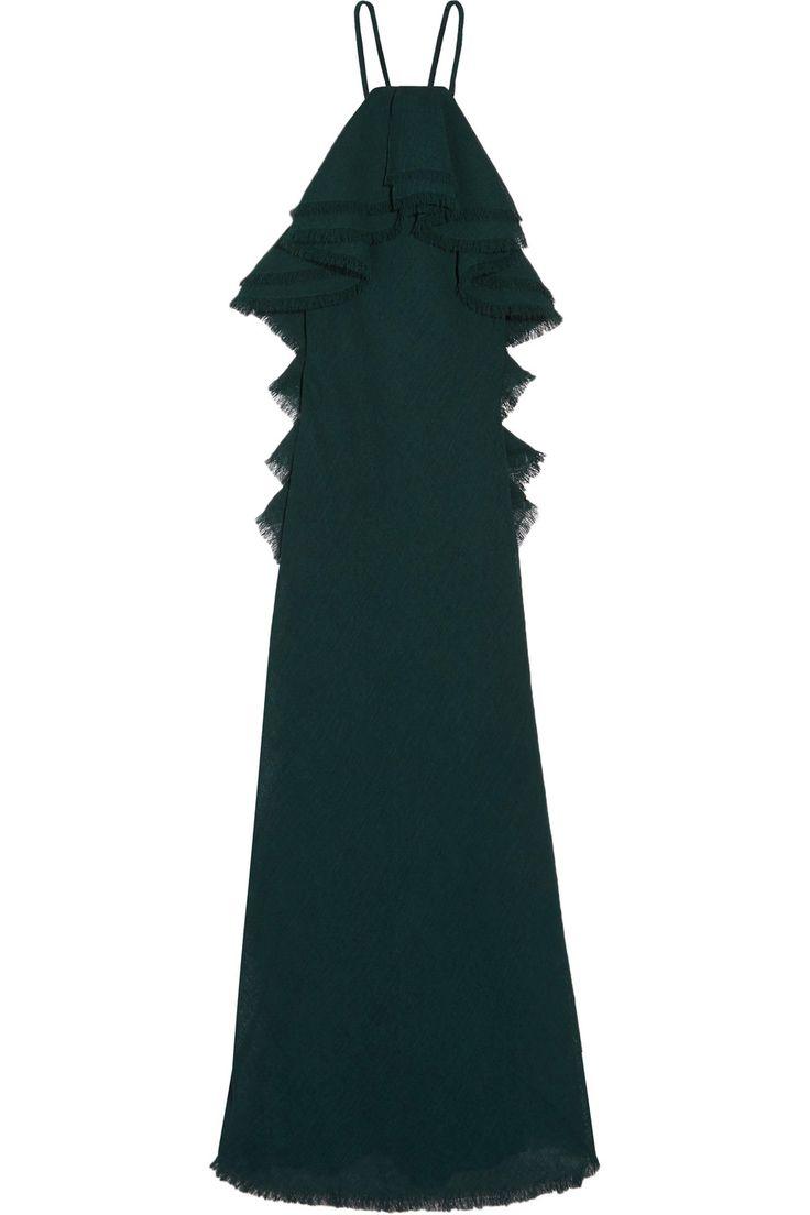 JASON WU Ruffled gauze gown. #jasonwu #cloth #gown