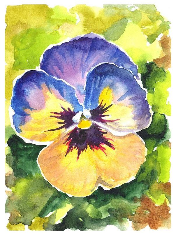 The Art Of Making Watercolour Paints 47848 Watercolor Watercolour Painting Is A Technique Th In 2020 Watercolor Flowers Paintings Floral Watercolor Flower Painting
