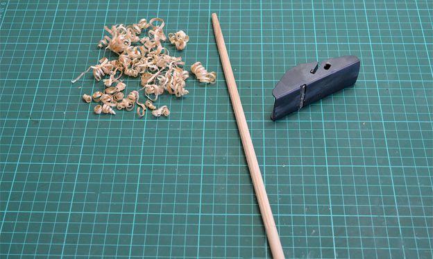 Truco para facilitar el conificado de palos | El blog de Artesanía Latina