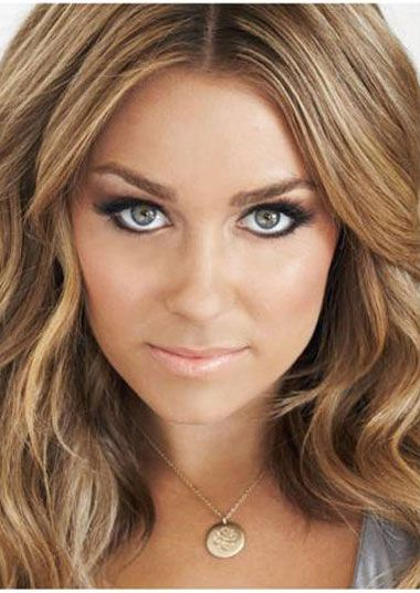 Lauren Conrad makeup. So gorgeous. If only I looked like her.