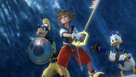 Every Kingdom Hearts game will come to PS4 in 2017     - CNET  Enlarge Image                                              Square Enix                                          2017 looks a good time to be a PS4 owner and Kingdom Hearts fan with six KH games and three movies coming to the platform.  The company today announced the Kingdom Hearts 1.5 and 2.5 Remix games will be re-released on the PS4 on March 31 next year. Thatll follow Januarys Kingdom Hearts 2.8.   (Prepare yourself…