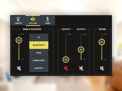 UI Element Challenge -- Day 068 Smart Home UI
