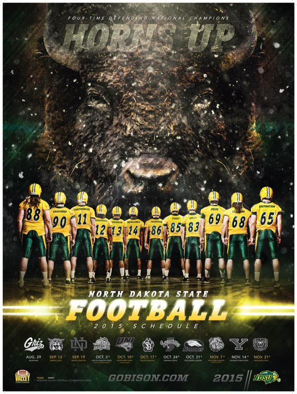 2015 NDSU Bison Football!!!
