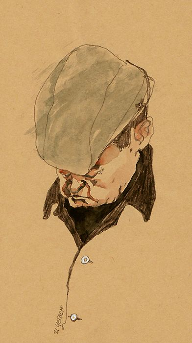daily metro sketches by Sunga Park, via Behance