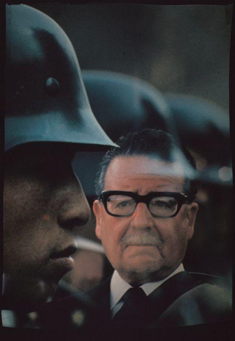 Raymond Depardon 1971  CHILE. Chilian president Salvador ALLENDE. 1971.