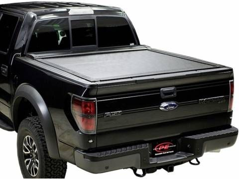 I know you want the best tonneau cover on the market that turns your truck bed into a secure storage area and allows you to utilize your full truck bed. Pace Edwards Switchblade tonneau cover – enough said…