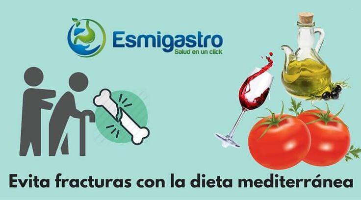 En México 1 de cada 12 mujeres en edad adulta (> 50 años) esta propensa a una fractura de cadera, la dieta medirránea puede prevenirlo.