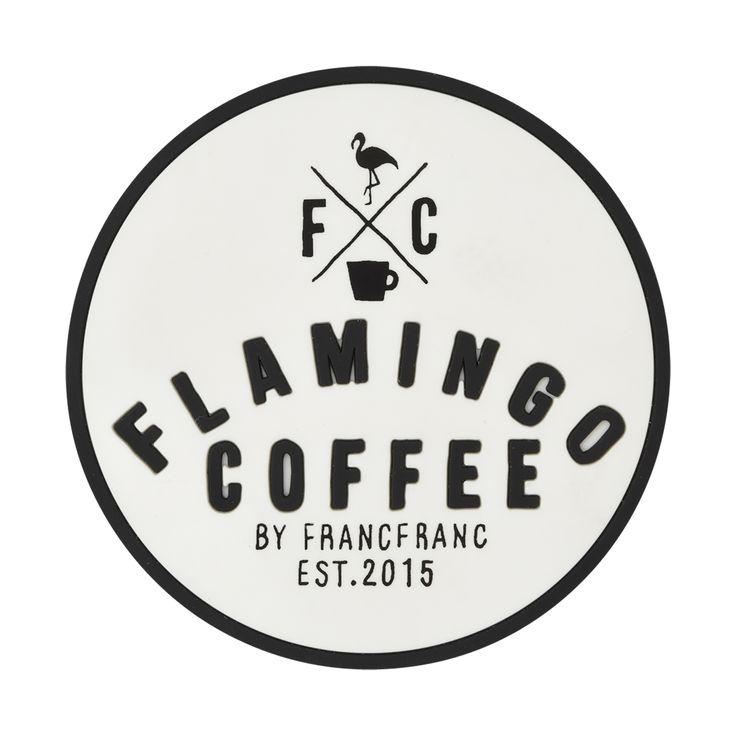 FC コースター ロゴ ホワイト(ホワイト) Francfranc(フランフラン)公式サイト|家具、インテリア雑貨、通販