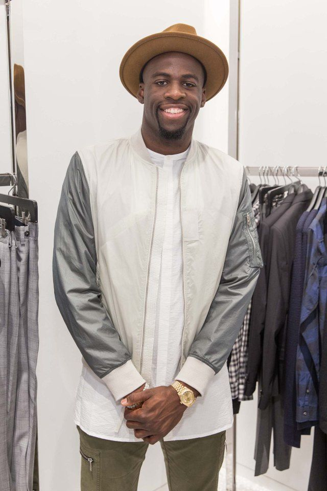 Draymond Green on Dressing for the NBA at Barneys Opening in San Francisco