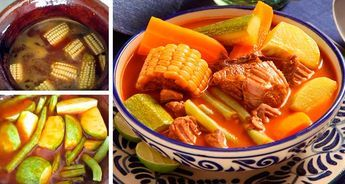 Una de las comidas más tradicionales de México que combina el exquisito sabor de la carne de res con verduras y el sabor del epazote en un exquisito caldo rojo. Este platillo aparte de delicioso, también es ideal para levantar el ánimo decaído y aliviar cualquier resaca. Ingredientes: 1 kilo de carne de res (mitad…