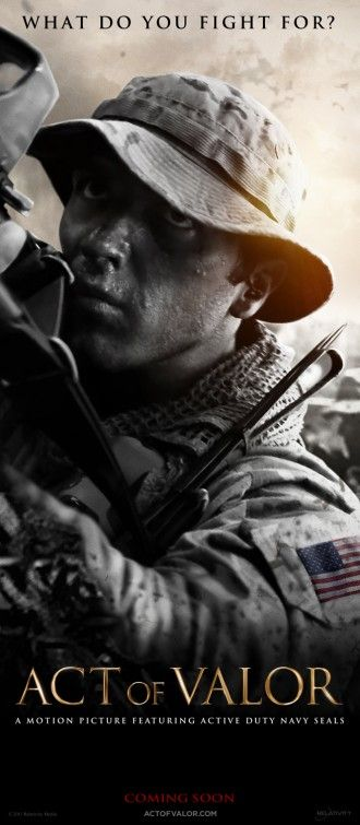 act of valor. i want to see this movie