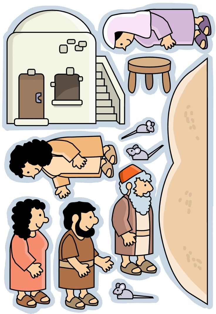 These could be printed and mounted on the sides upturned paper cups to be stand-up figures. Could be used with the lesson at http://missionbibleclass.org/1b0-new-testament/new-testament-part-1/life-of-christ-early/boy-jesus-visits-the-temple/