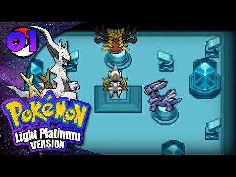 Let's Play Pokemon: Light Platinum   Part 1  KILL THE GOD