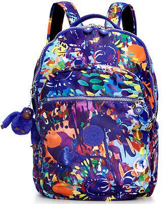 Kipling Handbag, Seoul Print Backpack - Handbags & Accessories - Macy's