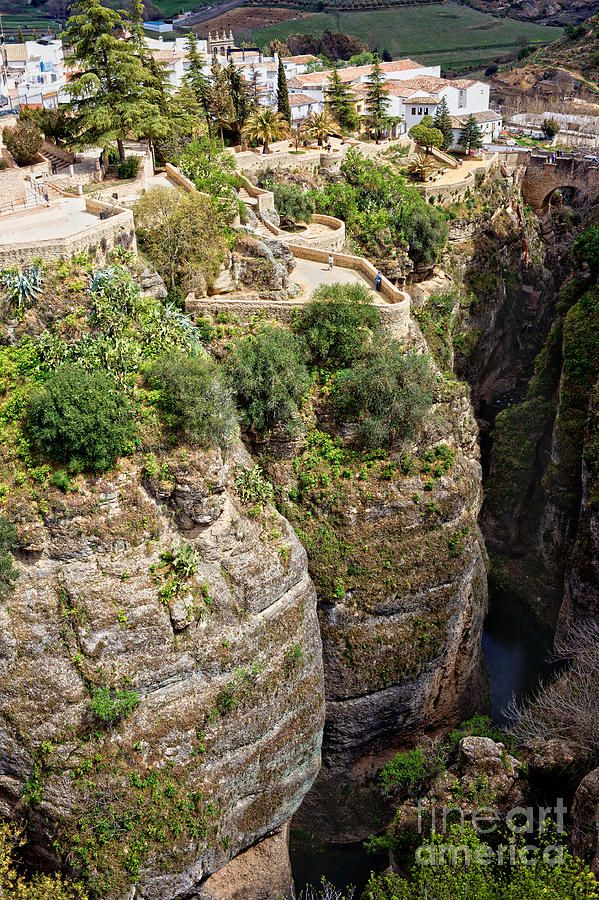 Cliffs at Ronda, Andalucia - Spain