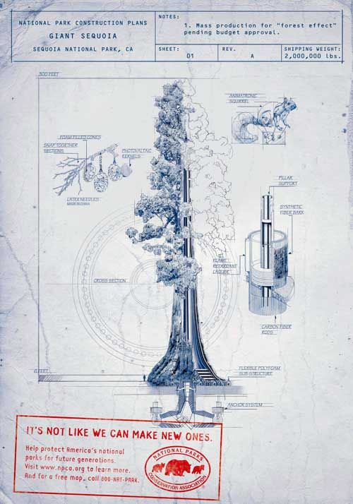 25 best blueprints images on pinterest posters graphics and info finallyprints to build your own working giant sequoia tree so malvernweather Choice Image