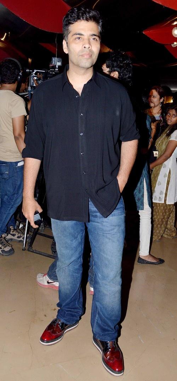 'Bombay Talkies' directors at PVR Cinemas in Juhi, Mumbai
