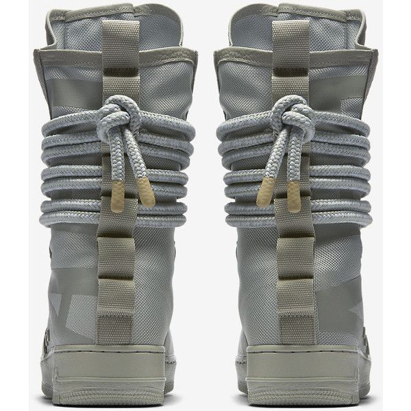Nike SF Air Force 1 Hi Men's Boot. Nike.com ❤ liked on Polyvore featuring men's fashion, men's shoes, men's boots, mens shoes, mens boots, nike mens shoes and nike mens boots