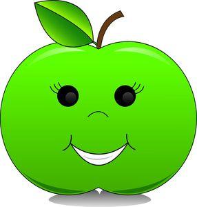 cartoon apple character - Google Search