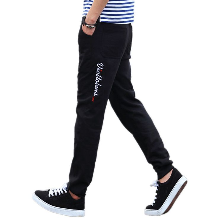 TG6343 Cheap wholesale 2016 new Foot haroun pants men s casual pants straight cultivate one s. Click visit to buy #SkinniPants