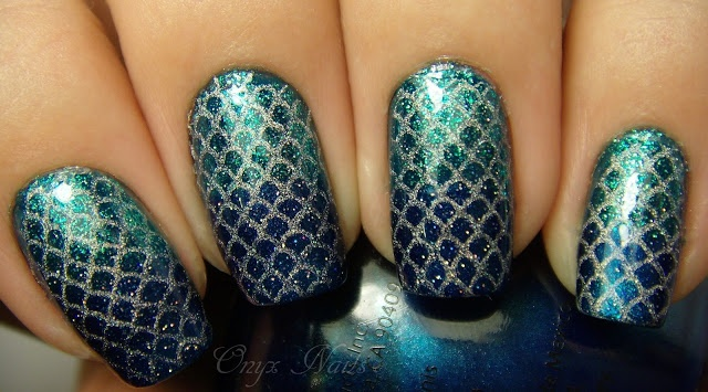 Onyx Nails: Mermaid Nails Tutorial