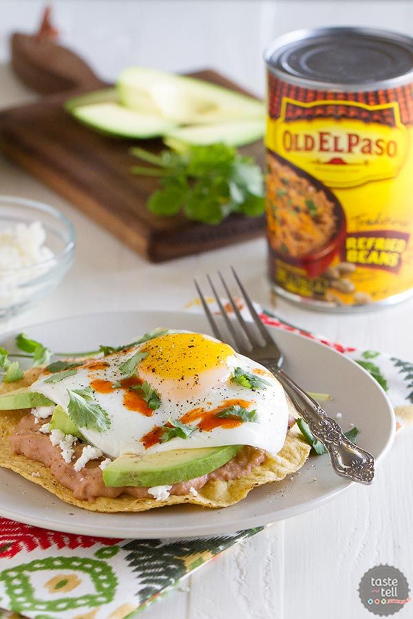 You will not want to save these Easy Breakfast Tostadas just for breakfast! This flavor-packed...