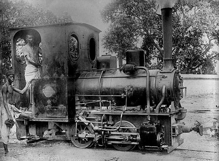 india steam locomotive