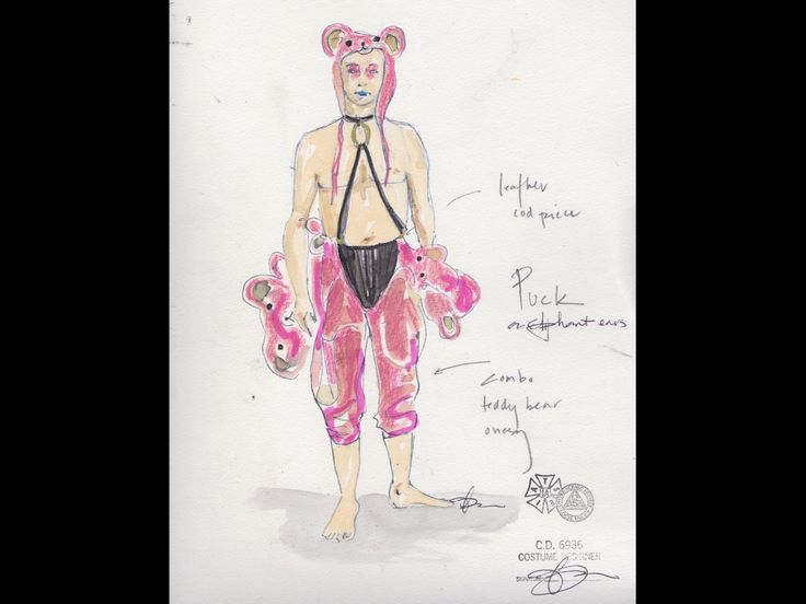 A Midsummer Night's Dream (Puck). Costume design by Andrea Lauer.